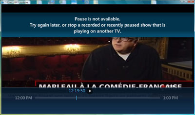 Pause is not available